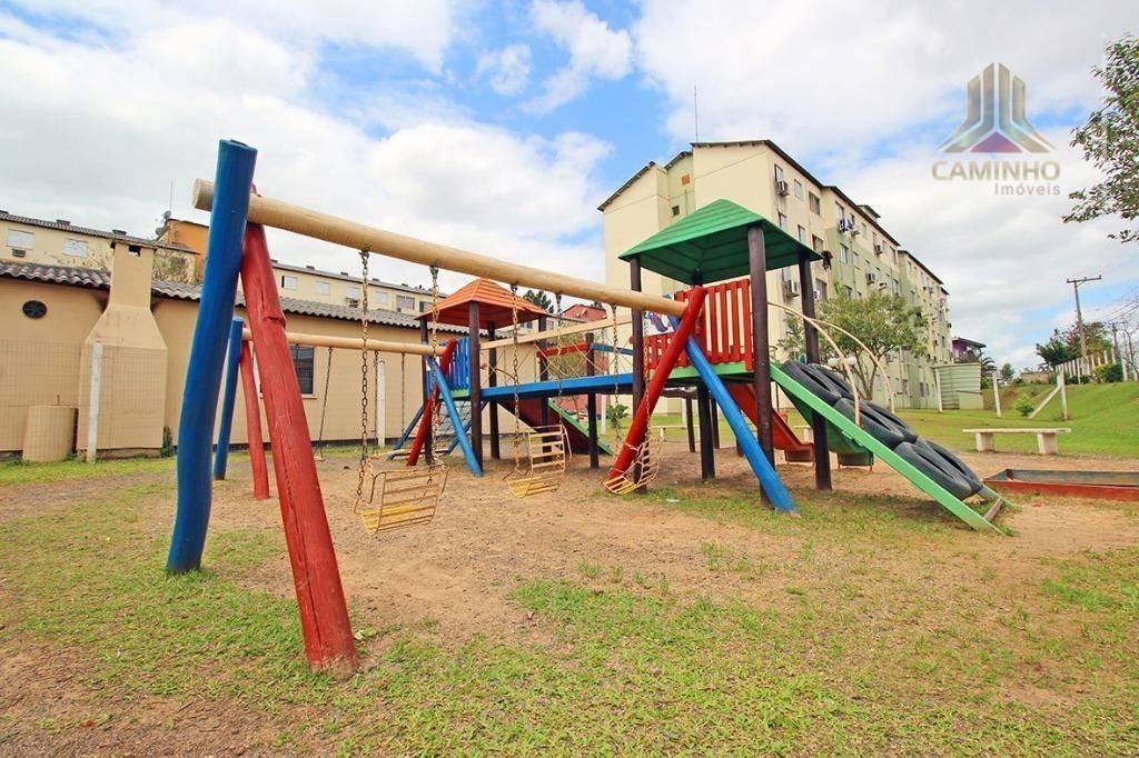 apartamento de dois dormitórios com estacionamento em cachoeirinha por r$ 106 mil - ap3692