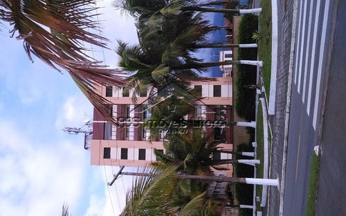 apartamento de dois dormitórios frente mar ap958