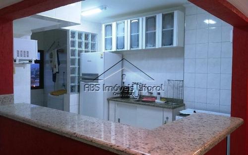 apartamento de dois dormitórios frente mar ap959