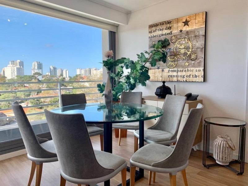 apartamento de dos dormitorios en playa mansa - venta- ref: 785