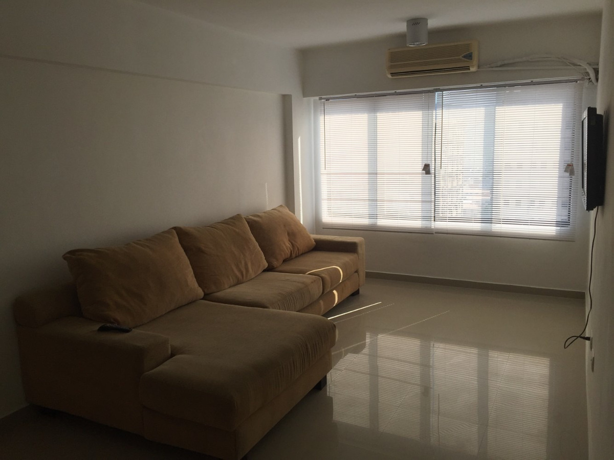 apartamento de dos habitaciones y dos baños