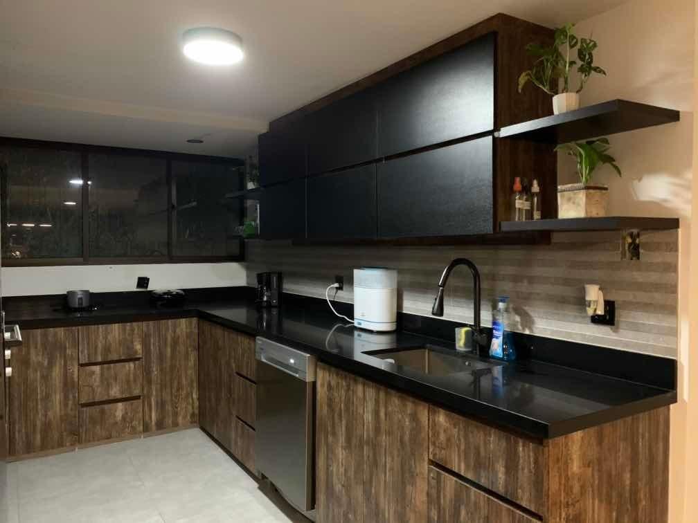 apartamento de espacios abiertos, 2 hab. 1 est. 3 bañ.