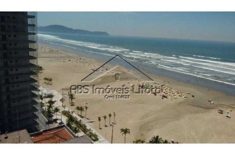 apartamento de frente ao mar em praia grande- ap 739