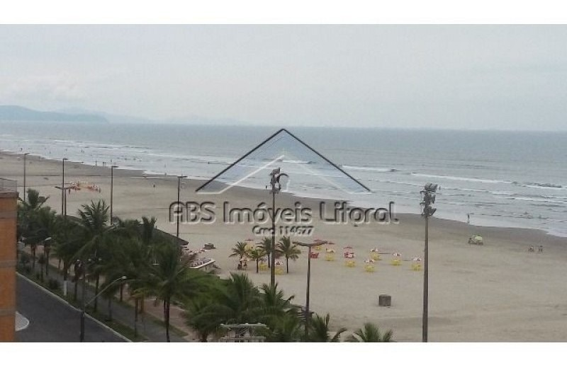 apartamento de frente ao mar em praia grande ap769
