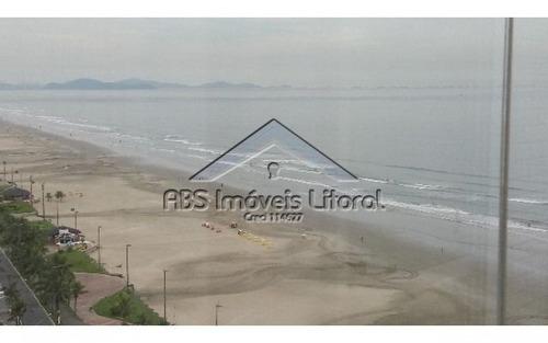apartamento de frente ao mar em praia grande ap778