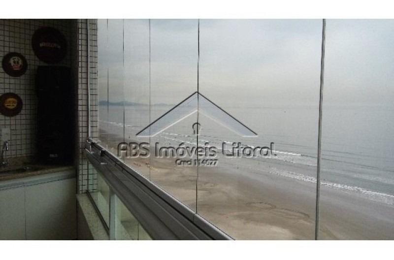 apartamento de frente ao mar em praia grande ap780