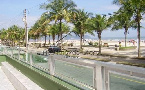 apartamento de frente ao mar em praia grande ap838