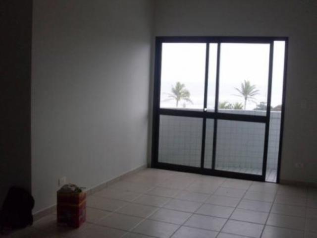 apartamento de frente ao mar no centro - itanhaém 5836 | npc