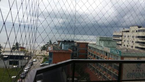 apartamento de frente para a avenida nereu ramos com vista permanente para o mar - 1508