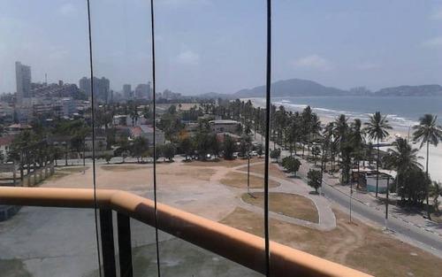 apartamento de frente para o mar,  enseada - guarujá - ap27