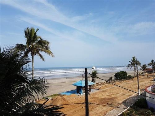 apartamento de frente para o mar mongaguá r$ 259.900 c5532