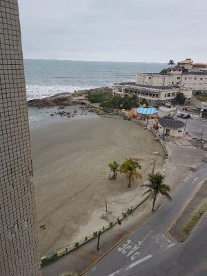 apartamento de frente para o mar, na praia do sonho itanhaém
