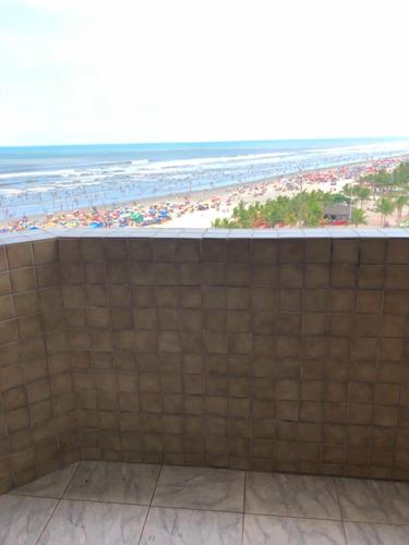 apartamento de frente para praia - praia grande