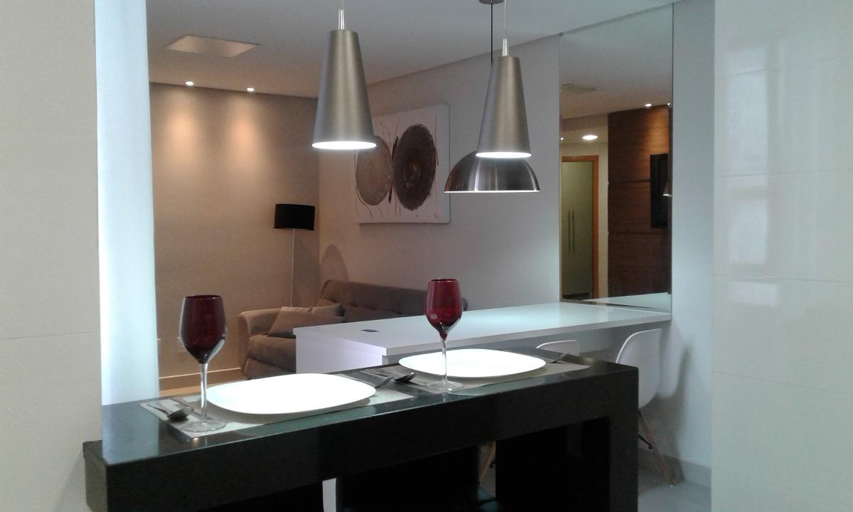 apartamento de luxo 03 quartos com suite bom retiro