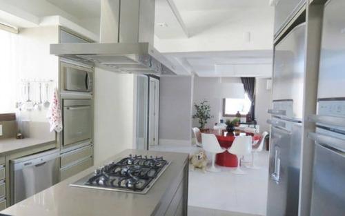 apartamento de luxo com 3 dormitórios (2 suítes) na av beira mar em florianópolis