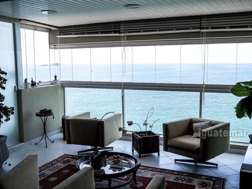 apartamento de luxo frente ao mar no guaruja - p1845mlk