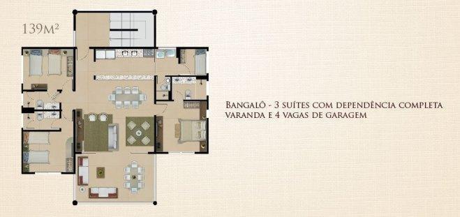 apartamento de praia à venda, cumbuco, ceará - ap0073