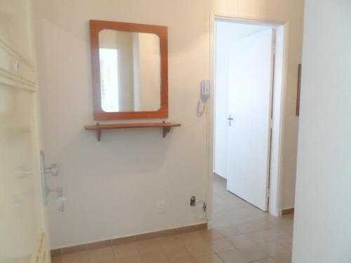 apartamento de um dormitório residencial à venda, centro, guarujá. - ap1132