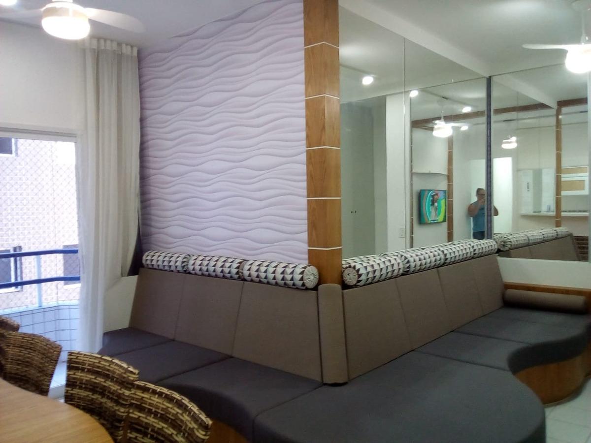 apartamento decorado -  canto do forte - praia grande - sp