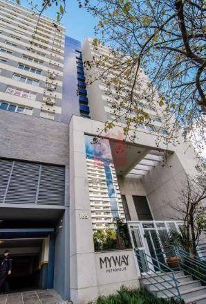 apartamento decorado de 3 dormitórios com garagem  - bairro petrópolis - porto alegre - ap2016