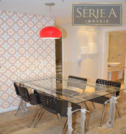 apartamento decorado e mobiliado, brooklin - ap0662