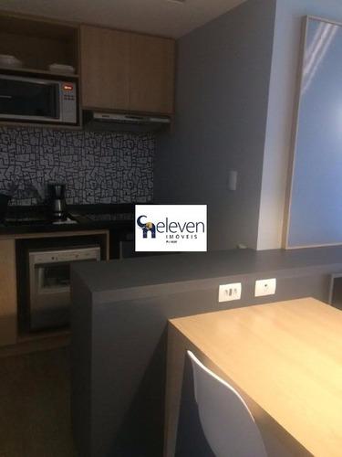 apartamento decorado e mobiliado para venda caminho das arvores, salvador 1 dormitório, r$ 460.000,00, 1 sala, 1 banheiro, 1 vaga, 45 m². - tmm3025 - 4544450
