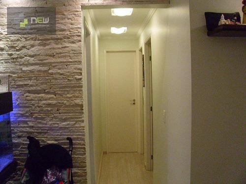 apartamento  decorado, jd.bbom clima, guarulhos. - ap0311