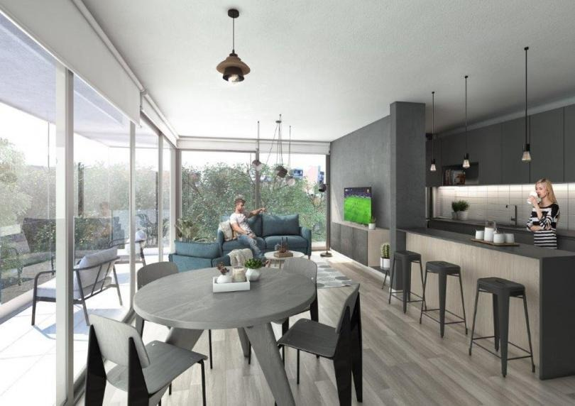 apartamento diseño moderno, proximo a rambla
