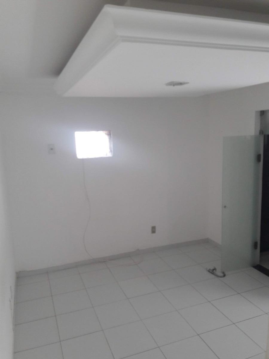 apartamento dois quartos revertido p/ três - 3 banheiros