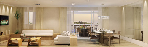 apartamento domo home 123 m². 3 dormitórios, 1 suíte, 2 vaga