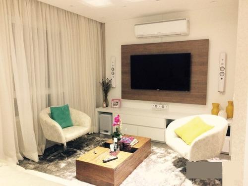apartamento domo life. 3 suítes, 3 vagas. ótima decoração