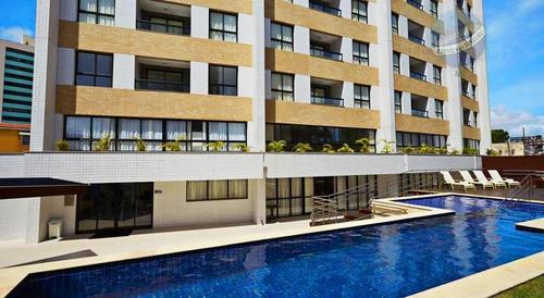 apartamento double flat à venda, ponta negra, comfort hotels - ap0088