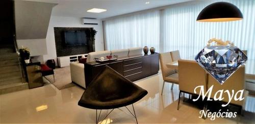 apartamento duplex 4 suítes, 242 m² na 404 sul - letoile du - 614