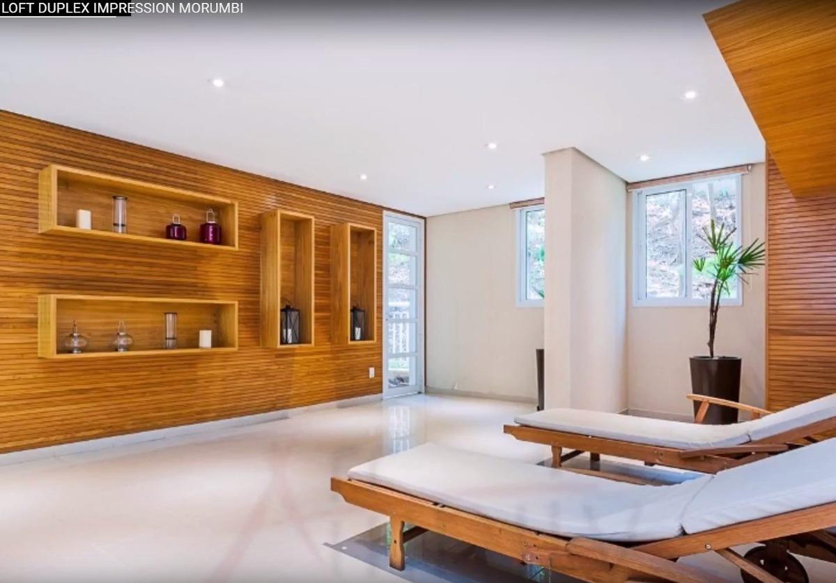 apartamento duplex 48m2 ar cond 2banh 1vaga, lazer completo