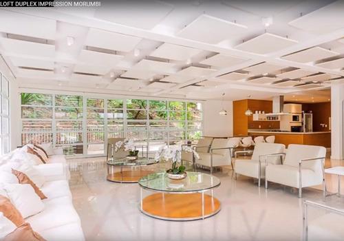 apartamento duplex 50m2 ar cond 2banh 1vaga, lazer completo