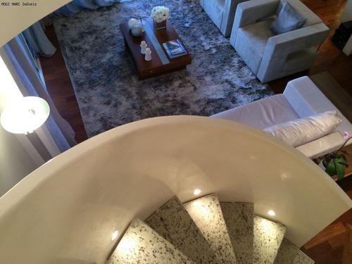 apartamento dupléx a venda - arts garden - mogi das cruzes - ap00573 - 2766446