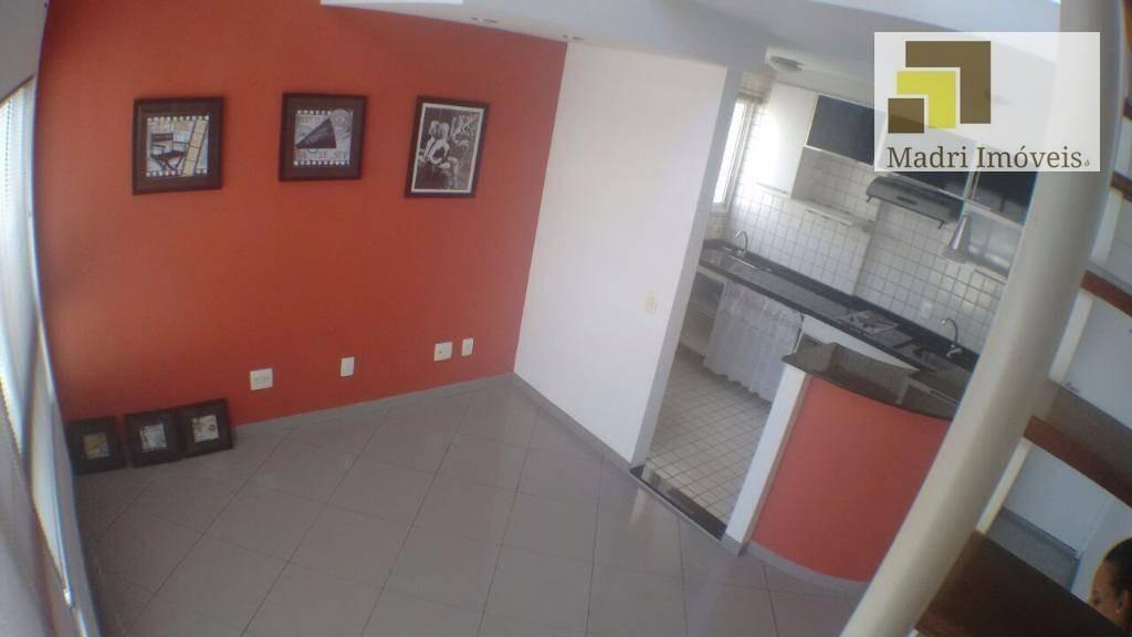 apartamento duplex com 1 dormitório para alugar, 38 m² por r$ 1.950,00/mês - vila leopoldina - são paulo/sp - ad0014