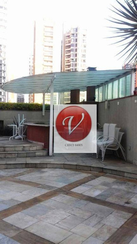 apartamento duplex com 1 dormitório para alugar, 84 m² por r$ 2.857/mês - jardim - santo andré/sp - ad0017