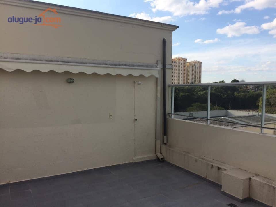 apartamento duplex com 2 dormitórios para alugar, 111 m² por r$ 2.000/mês - jardim américa - são josé dos campos/sp - ad0043