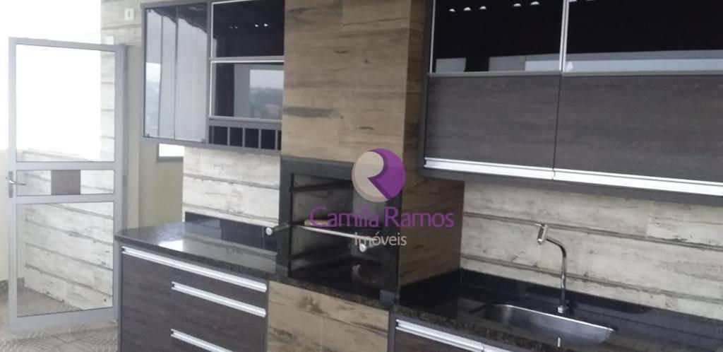 apartamento duplex com 2 dormitórios à venda e locação, 97 m² - jardim são luís - suzano/sp - ad0014