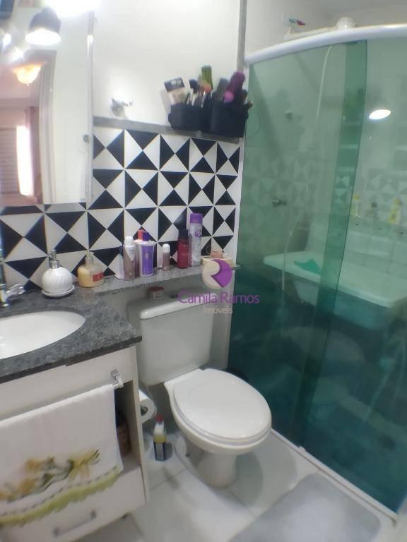 apartamento duplex com 3 dormitórios à venda, 126 m² - alto ipiranga - mogi das cruzes/sp - ad0002