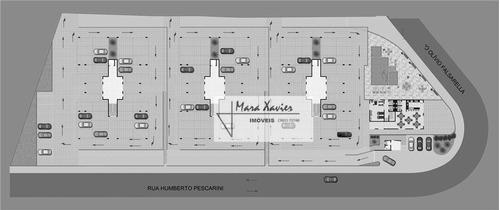 apartamento duplex com 3 dormitórios à venda, 216 m² por r$ 790.000,00 - condomínio splendore residence - vinhedo/sp - ad0002