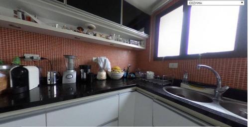apartamento duplex com 3 dormitórios à venda, 292 m² por r$ 1.650.000 - campo belo - são paulo/sp - ad0206