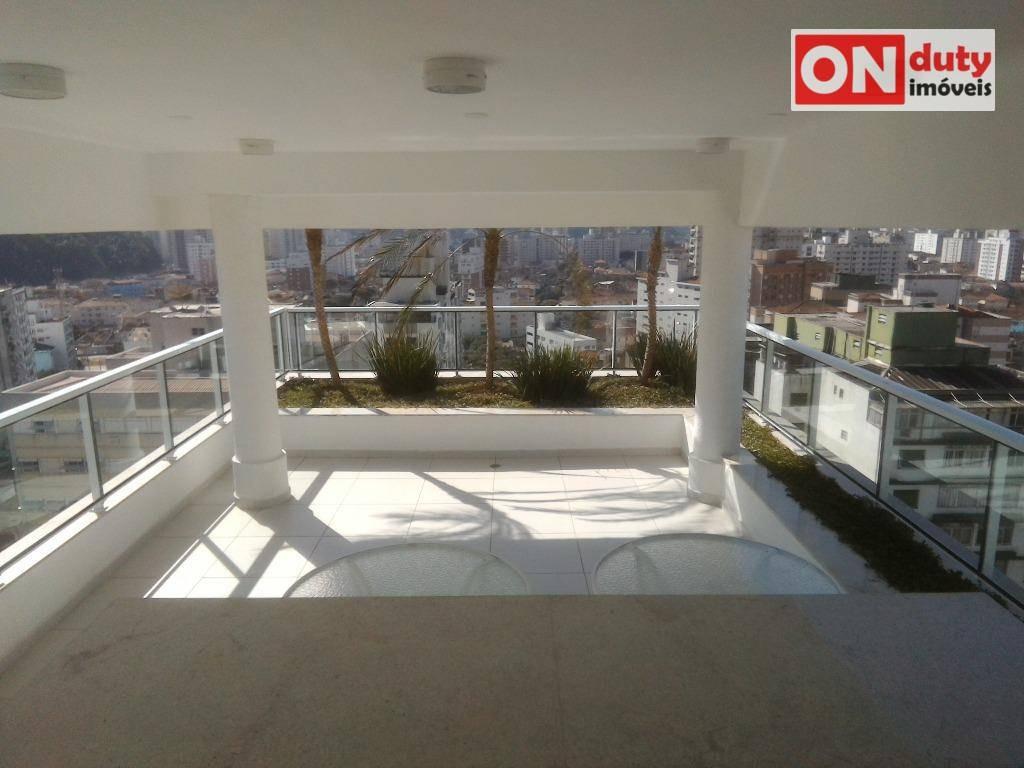 apartamento duplex com 3 dormitórios à venda - josé menino - santos/sp - ad0011