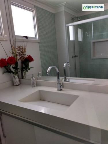 apartamento duplex com 3 dormitórios à venda no condomínio fatto quality, 126 m² por r$ 690.000 - vila augusta - guarulhos/sp - ad0004