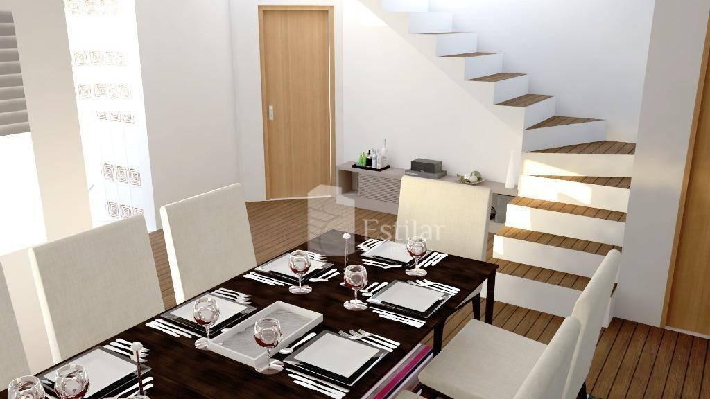 apartamento duplex com 3 quartos (2 suítes) no boneca do iguaçu - são josé dos pinhais/pr - ad0037