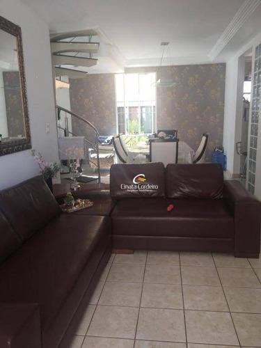 apartamento duplex com 4 dormitórios à venda, 187 m² por r$ 350.000 - bessa - joão pessoa/pb - ad0008