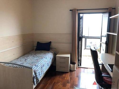 apartamento duplex com 4 dormitórios à venda, 390 m² por r$ 1.500.000 - vila santa terezinha - são bernardo do campo/sp - ad0006