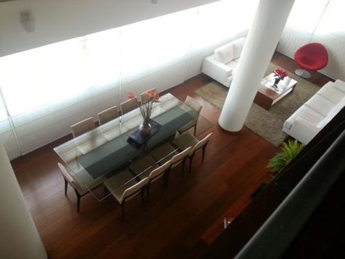 apartamento duplex com 4 quartos para comprar no santa efigênia em belo horizonte/mg - 686