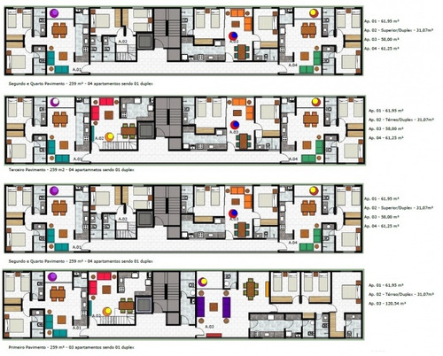 apartamento duplex jardim paulista - 14699